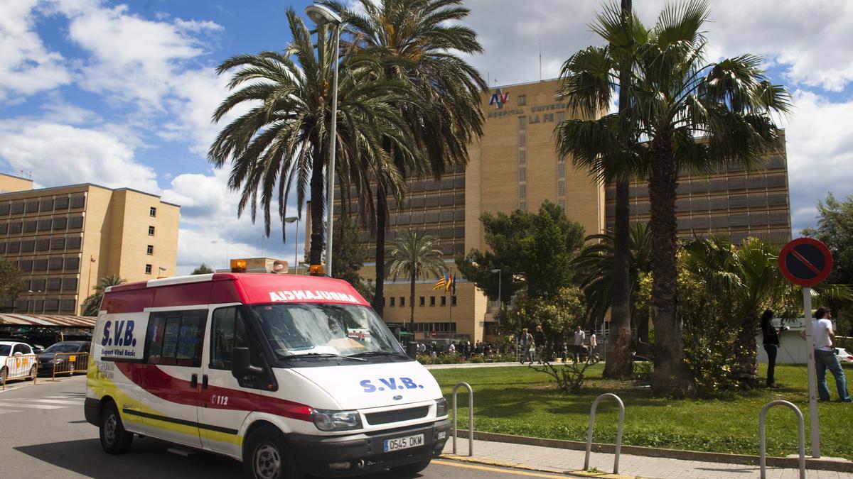 La víctima se encuentra en La Fe de València tras el atropello que le causó graves lesiones y hemorragias.