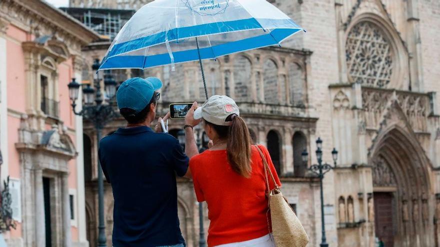 El tiempo en Valencia: el calor sofocante da paso a las lluvias que aguarán el fin de semana