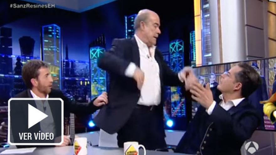 Antonio Resines se enfada y abandona 'El Hormiguero'