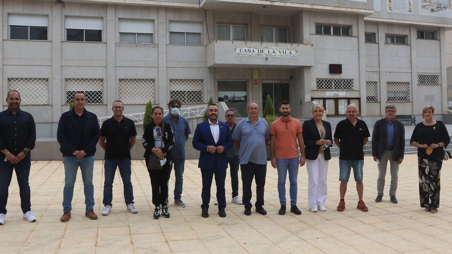 Los alcaldes impulsan un lobi en Castellón en apoyo al parany