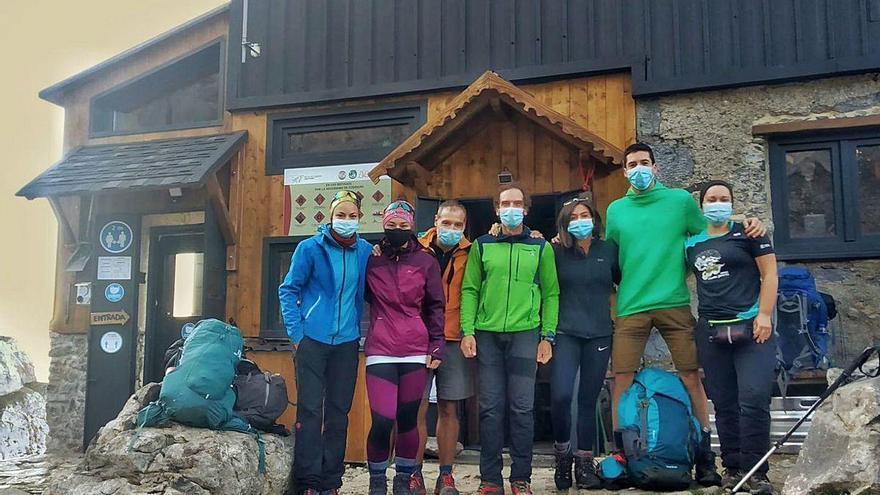 """Un """"trekking"""" por el Anillo de los Picos para homenajear al personal sanitario"""