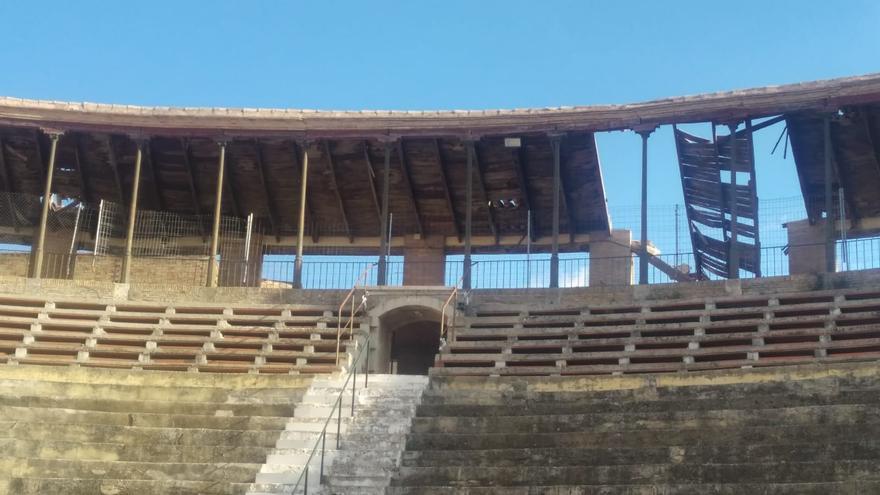 La plaza de toros de Utiel, en ruinas en medio de una disputa con la propiedad
