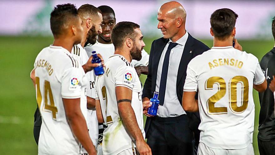 Zidane se marcha frustado del Real Madrid