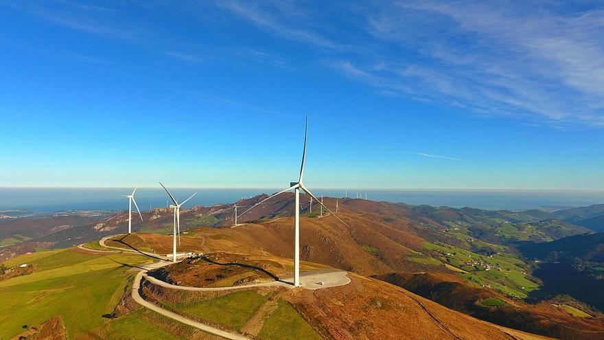 La potencia eólica n'Asturies yá supera la de la central d'Aboño