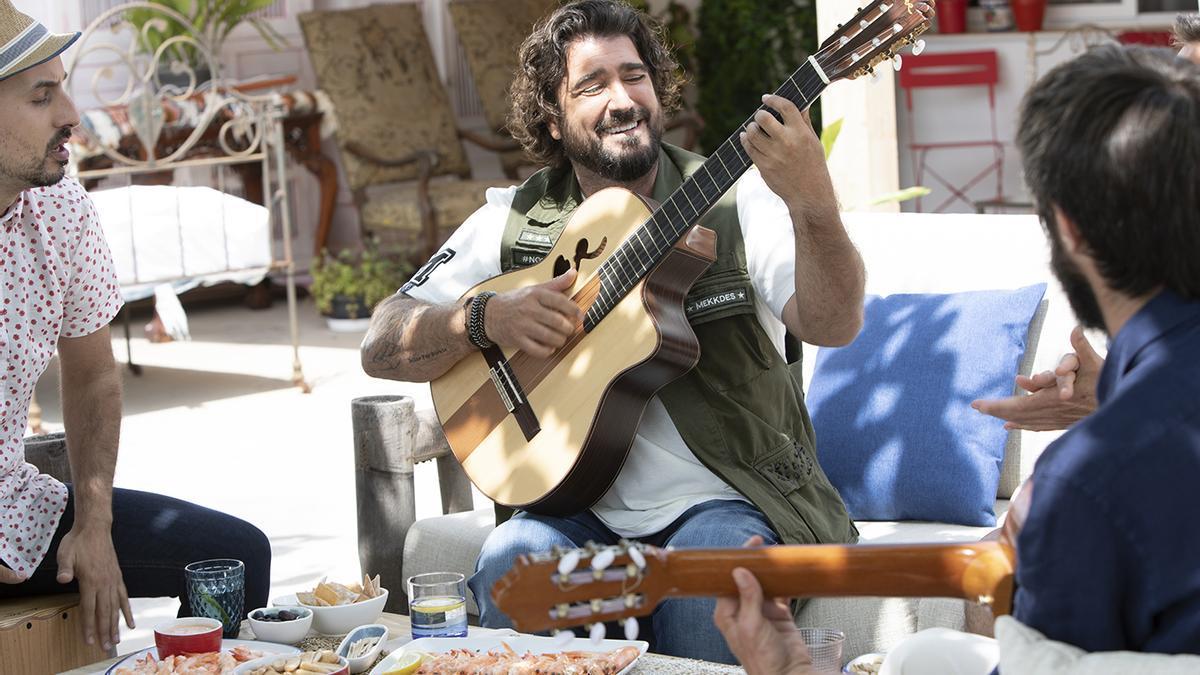 Orozco, en el videoclip.