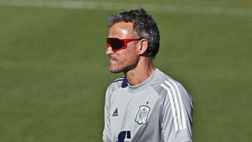 Luis Enrique se plantea repetir el mismo equipo que goleó a Eslovaquia