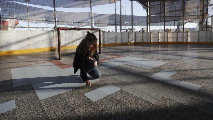 Seis imágenes que reflejan el pésimo estado de la pista de Gaetà Huguet