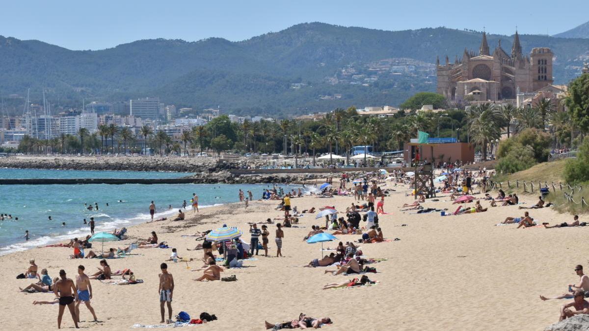 Palma abrirá las playas sin medidas de seguridad adicionales en la fase 2