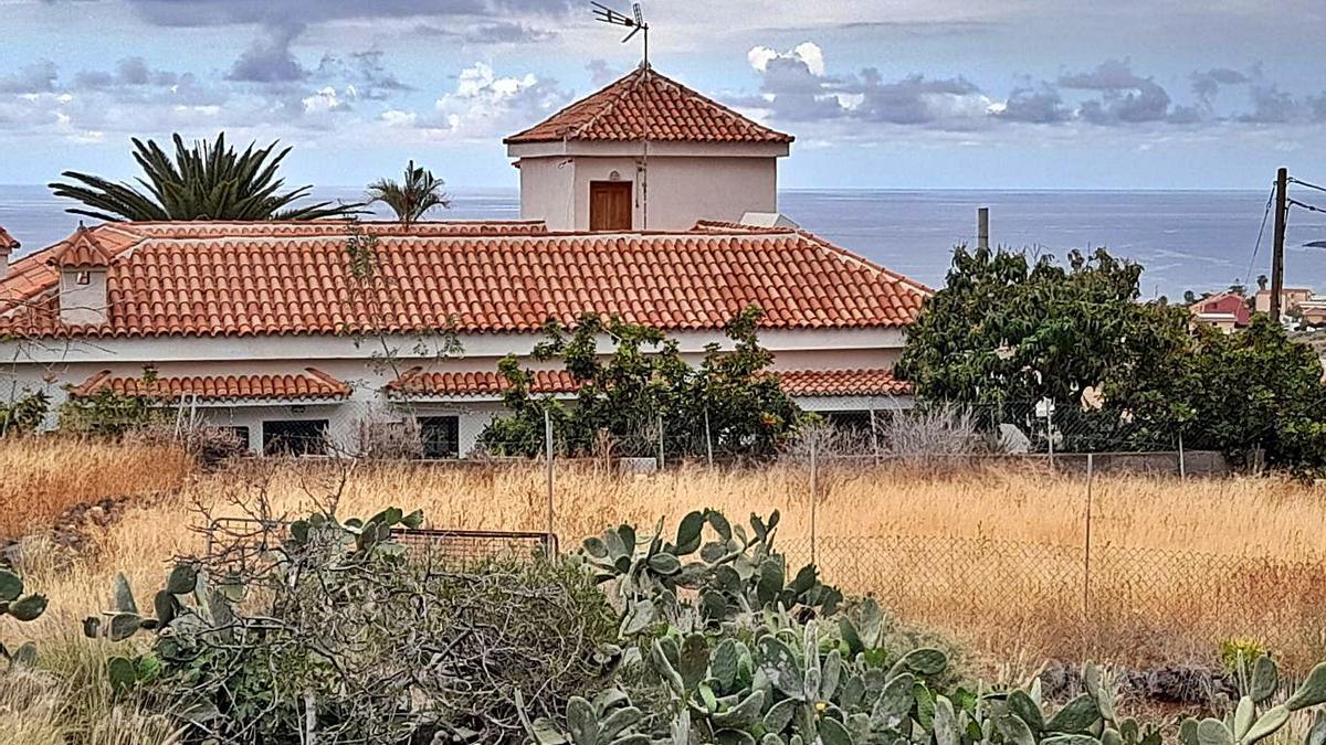 Vivienda en la que residía el padre de las niñas en Igueste de Candelaria.