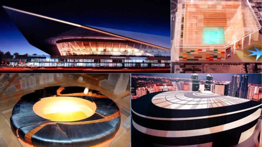 Los estadios del Valencia CF... que nunca se hicieron
