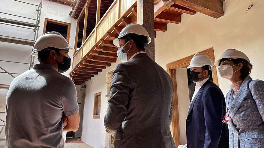 Las obras de la Casa Anchieta concluirán el próximo mes