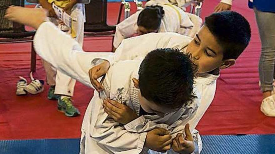 Una 'casa de papel' para judokas