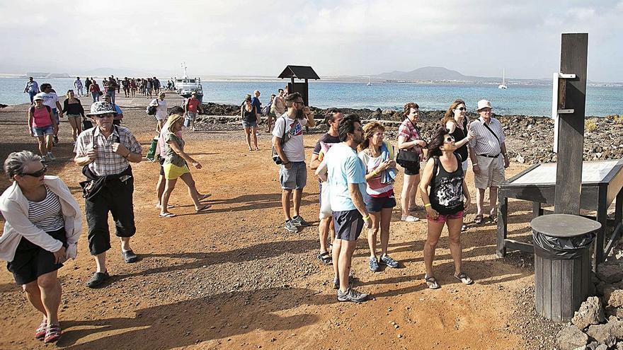 El Gobierno canario se resiste a ampliar el número de visitantes en Lobos