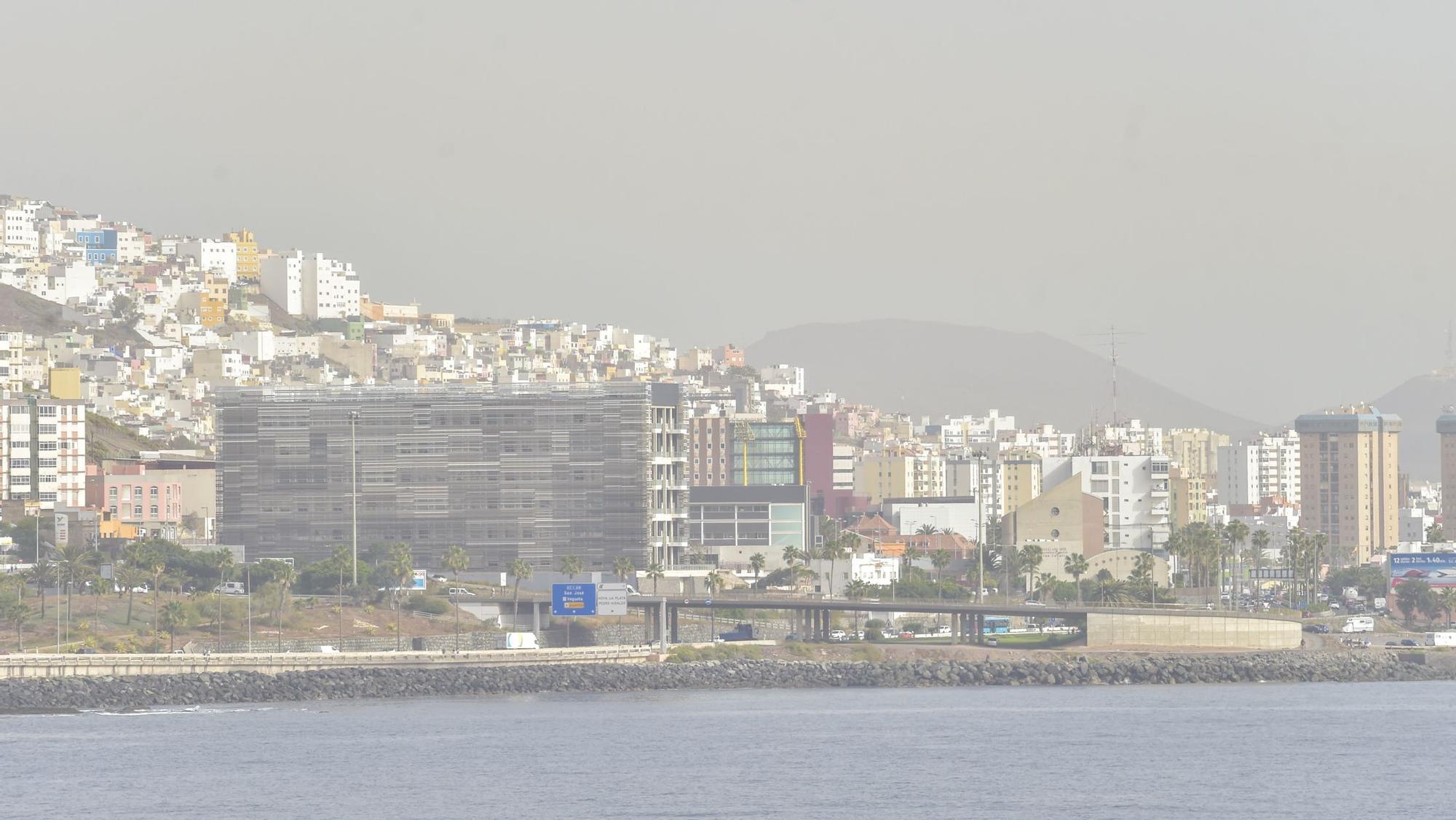 Calima en Gran Canaria (24/03/2021)