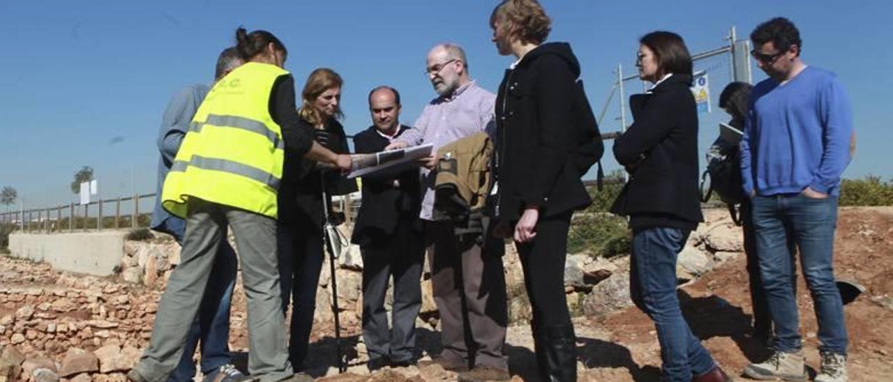 Castelló consolida la villa romana de Villamargo con 125.000 euros de inversión