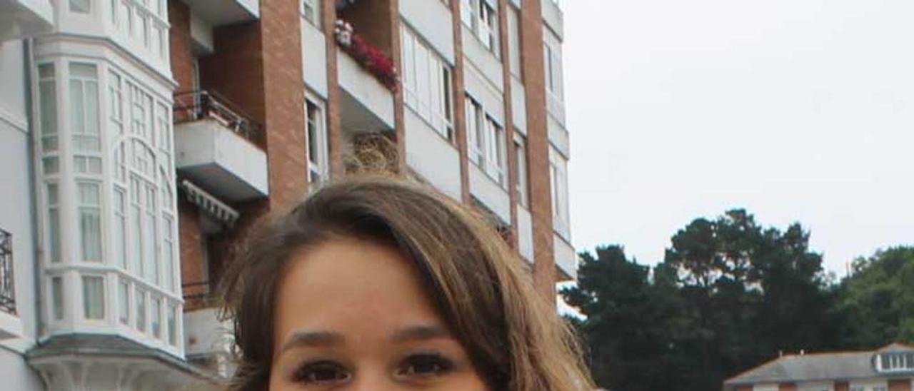 Teresa Álvarez, en Luarca.