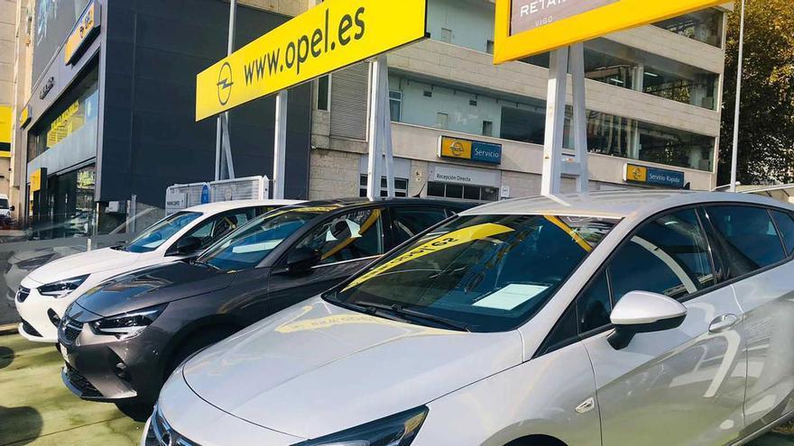 Gran evento de vehículos de ocasión de Opel PSA Retail Vigo