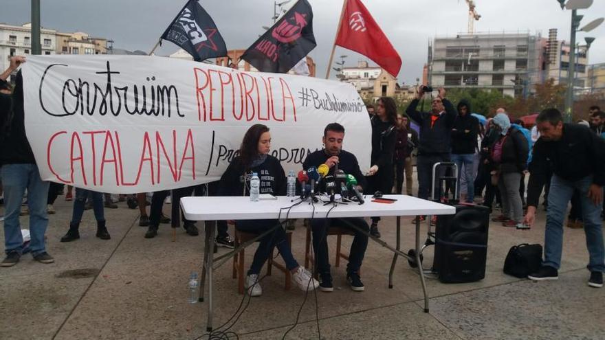 EN DIRECTE   Nova jornada de mobilitzacions a Girona