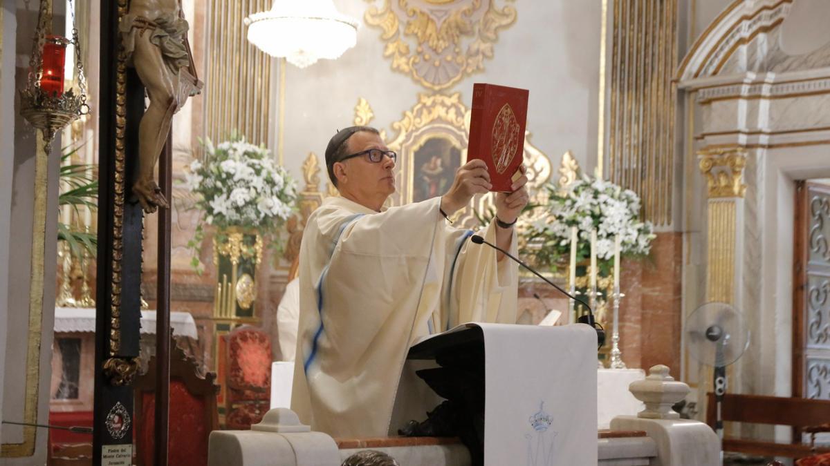 Josep Miquel Francés deja de ser Prior de la Basílica de Lledó de Castelló