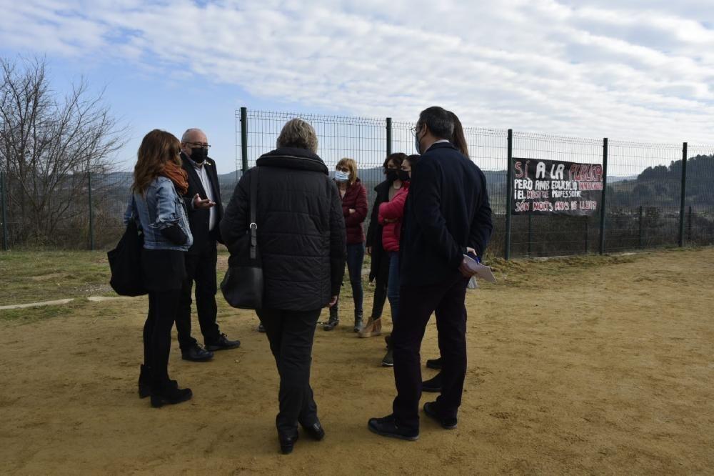 Josep Bargalló visita Navàs