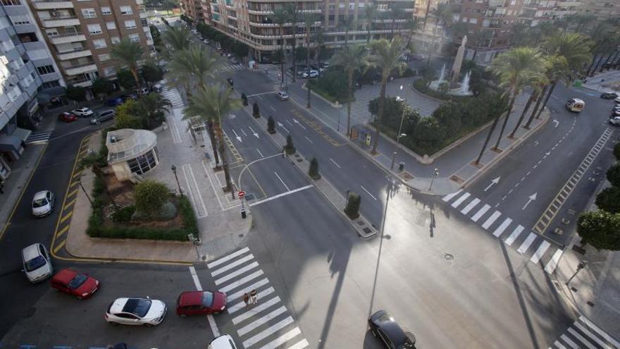 Alzira reactiva el plan para eliminar tráfico de las calles y apostar por los peatones