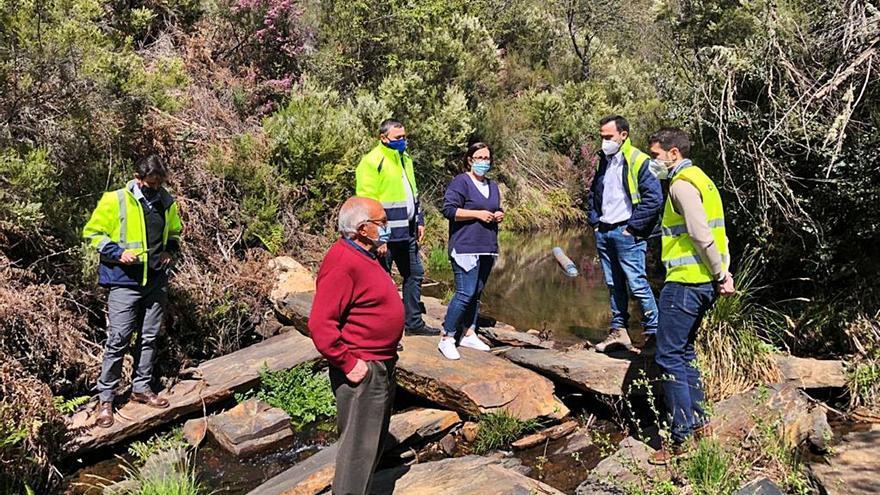 Riomanzanas pondrá fin al problema de agua con pozos de anillos en la Sierra de la Culebra