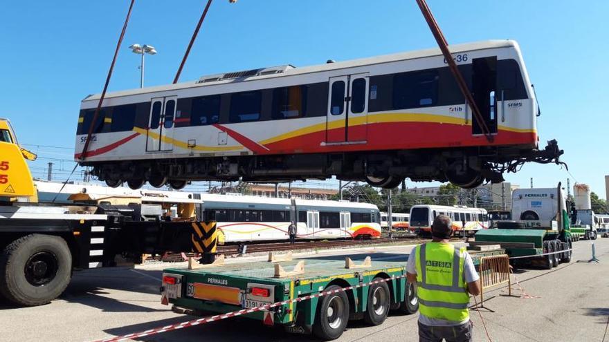 SFM inicia el traslado de los trenes diésel vendidos a Kenia