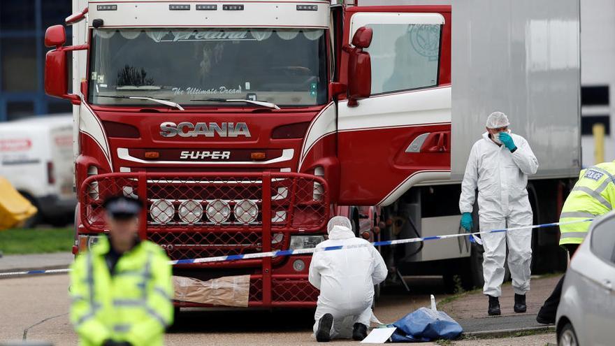 Cuatro condenados por homicidio por la muerte de 39 inmigrantes en Reino Unido en 2019