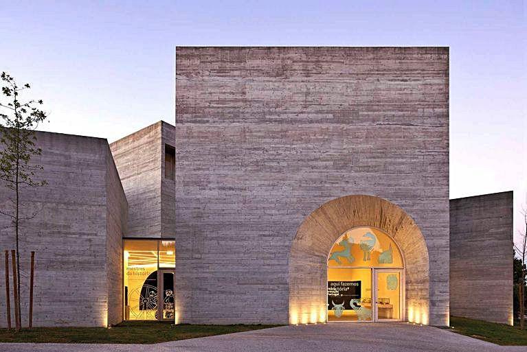 Exterior do Centro de Interpretación.