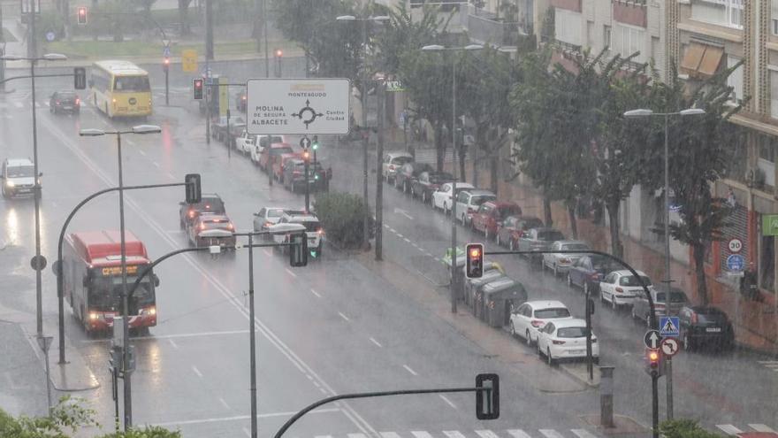 Tiempo en Murcia: Se esperan lluvias, más intensas y con tormentas al final del día