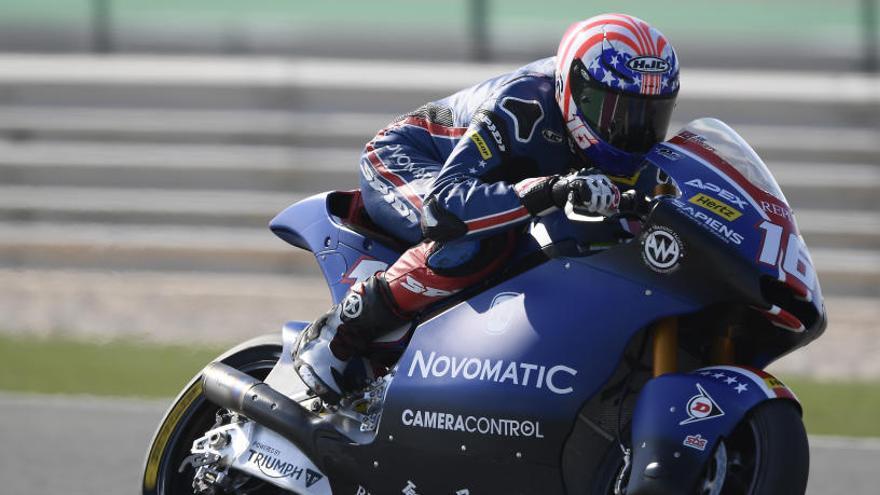 Joe Roberts da la sorpresa en los primeros libres de Moto2