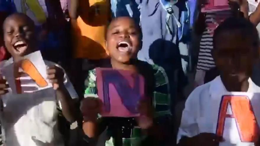 Estos niños de Kenia quieren saltar como Ana Peleteiro