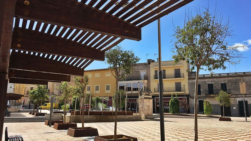 Manacor cubrirá la histórica plaza  de Sant Jaume con placas fotovoltaicas