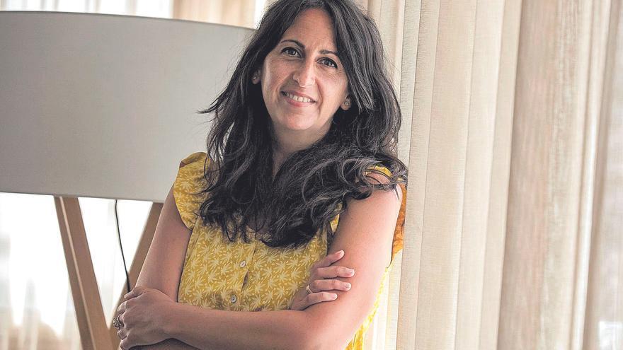 """María Oruña: """"Para escribir, hay que arriesgar"""""""