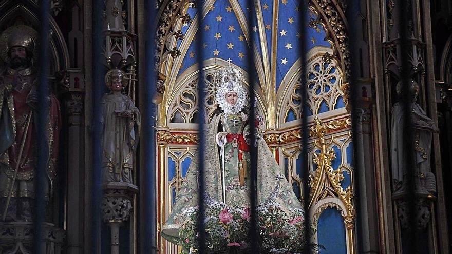 Una estancia de casi dos años de la Fuensanta en la Catedral
