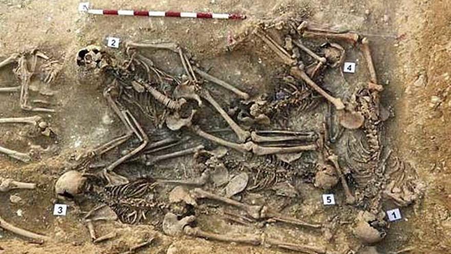 Publican los informes de las fosas que se han exhumado