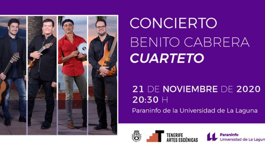 Concierto Benito Cabrera «Cuarteto»