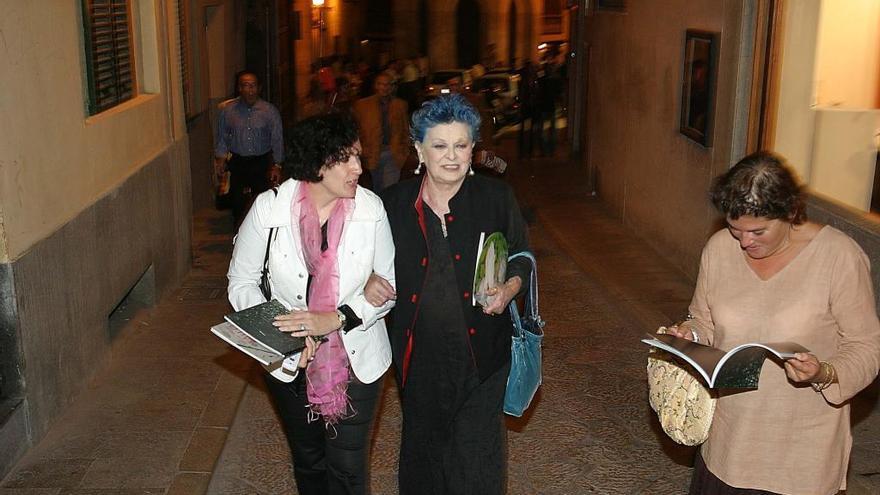 Fallece a los 89 años Lucía Bosé, la diva del pelo azul que se refugiaba en Mallorca