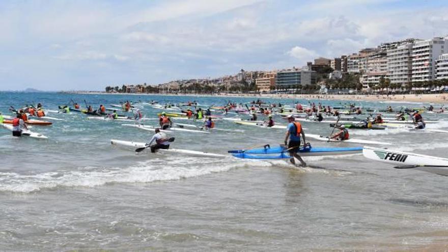 La Vila Joiosa, capital nacional del kayak de mar