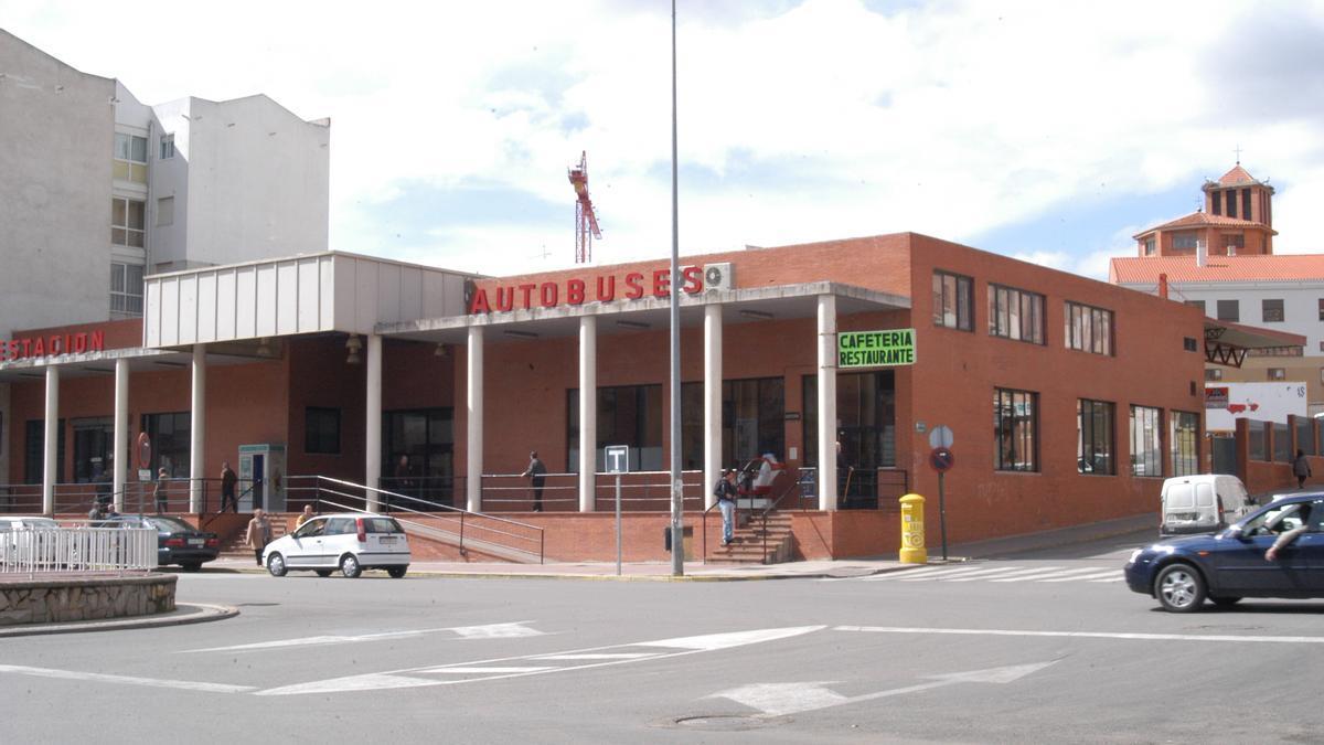 Estación de autobuses de Benavente. / E. P.