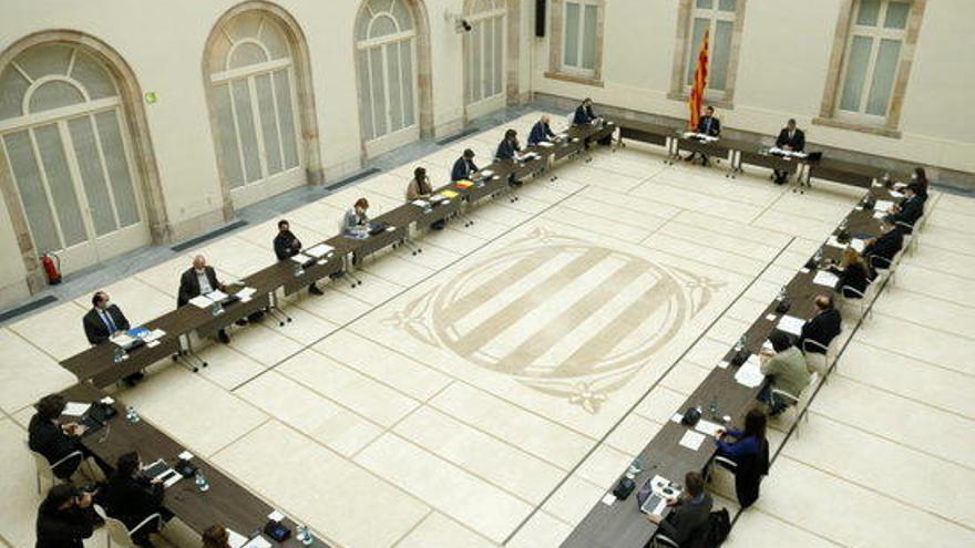 El Parlament treballa per celebrar la sessió constitutiva a l'auditori de la cambra perquè hi siguin els 135 diputats