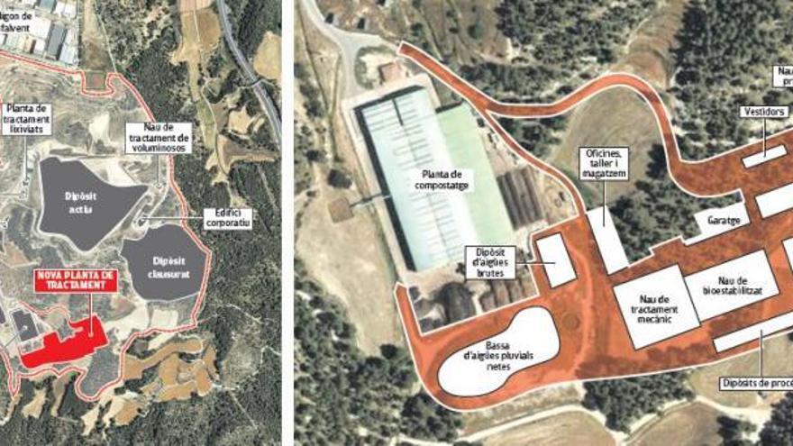 El projecte de la planta de tractament de residus de Manresa enfila la fase final