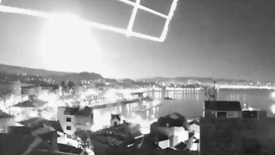 Un misterioso resplandor ilumina Galicia y el suroccidente asturiano en plena madrugada