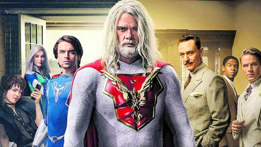Padres superhéroes