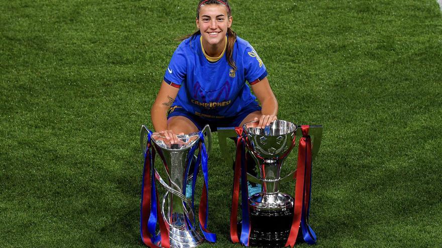 La mallorquina Patri Guijarro, en el once ideal de la Liga de Campeones femenina