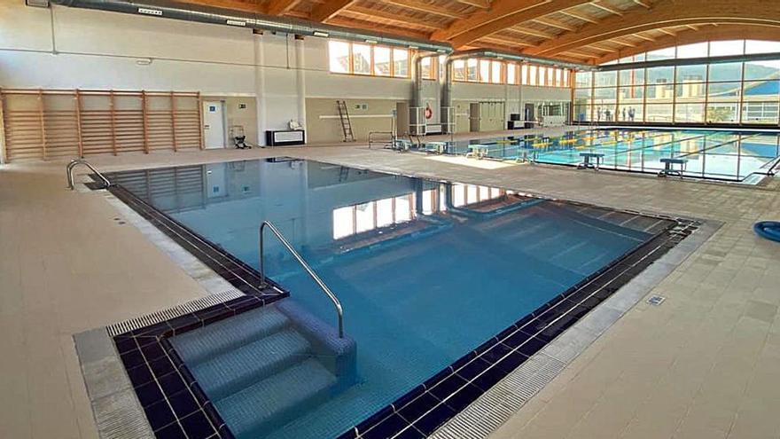 La piscina de Sant Josep, reabierta con limitaciones