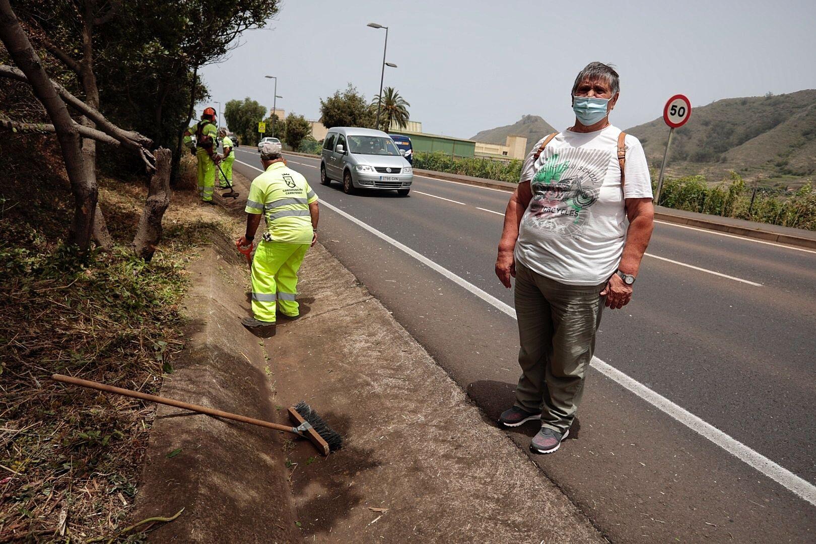 Puesta en marcha de las cuadrillas de carreteras de Anaga