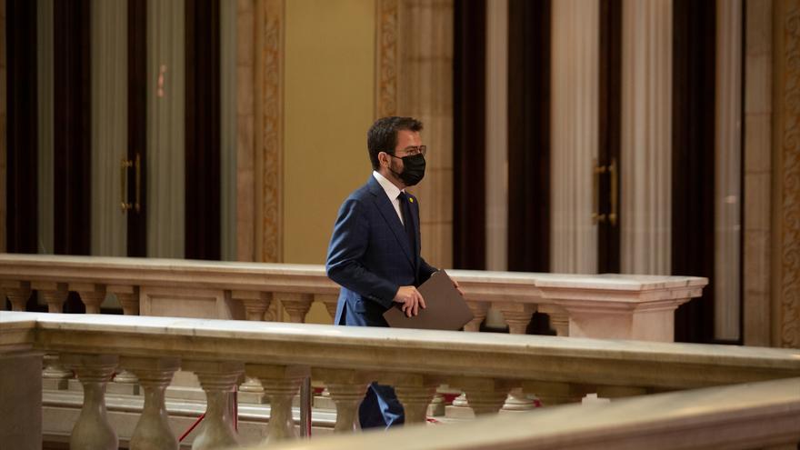 """Aragonès amenaza a Junts con """"explorar vías alternativas"""" si no hay acuerdo en una semana"""