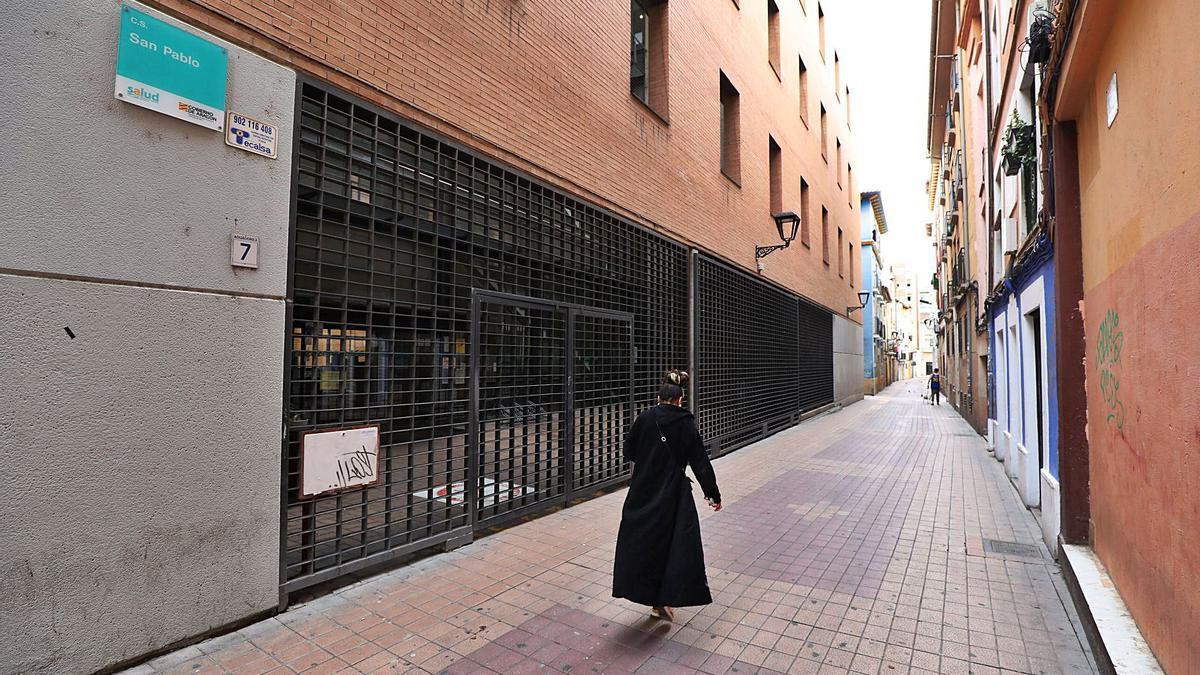 33 La Atención Continuada del centro de salud de San Pablo se trasladará al de Sagasta. | ÁNGEL DE CASTRO