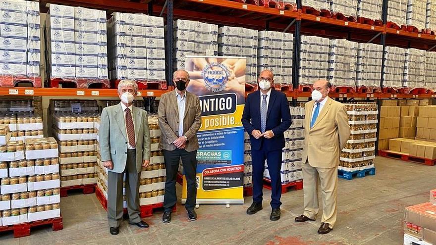 Un nuevo programa estatal distribuirá  en Las Palmas 1.500 toneladas de comida